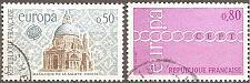 Buy [FR1304] France: Sc. no. 1304-1305 (1971) Used Complete Set