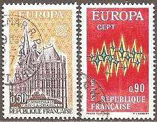 Buy France: Sc. no. 1340-1341 (1972) Used Complete Set