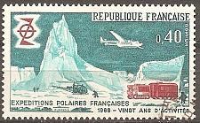 Buy [FR1224] France: Sc. no. 1224 (1968) Used Single