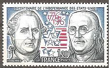 Buy [FR1480] France: Sc. no. 1480 (1976) MNH single