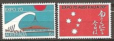 Buy [AU0472] Australia: Sc. no. 472-473 (1970) MNH Complete Set