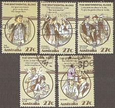Buy [AU0881] Australia: Sc. no. 881a-881e (1983) Used Complete Set