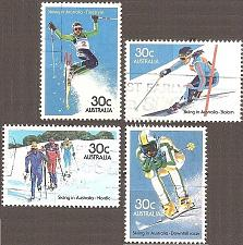 Buy [AU0898] Australia: Sc. no. 898-901 (1984) used complete set