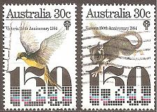 Buy [AU0940] Australia: Sc. no. 940-941 (1984) Used Complete Set