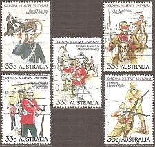 Buy [AU0945] Australia: Sc. no. 945a-945e (1985) used complete set