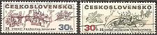 Buy [CZ1687] Czechoslovakia: Sc. no. 1687-1688 (1970) CTO