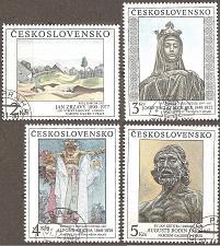 Buy [CZ2810] Czechoslovakia: Sc. no. 2810-2813 (1990) CTO Complete Set