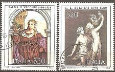Buy [IT1443] Italy: Sc. no. 1443-1444 (1980) Used Complete Set