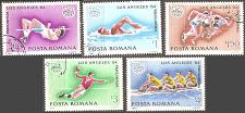 Buy [RO3184] Romania: Sc. no. 3184-3188 (1984) CTO