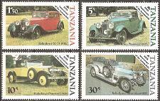 Buy [TZ0263] Tanzania: Sc. no. 263-266 (1985) MNH Complete Set