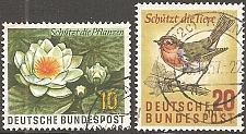 Buy [GE0773] Germany: Sc. no. 773-774 (1957) Used Complete Set