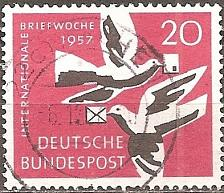 Buy Germany: Sc. no. 0775 (1957) Used Single