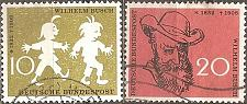 Buy [GE0780] Germany: Sc. No. 780-781 (1958) Used Complete Set