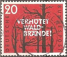 Buy [GE0782] Germany: Sc. No. 782 (1958) Used Single