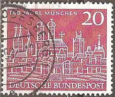 Buy Germany: Sc. No. 0785 (1958) Used Single