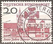 Buy [GE0786] Germany: Sc. No. 786 (1958) Used Single