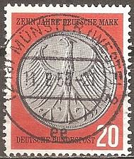 Buy [GE0787] Germany: Sc. No. 787 (1958) Used Single