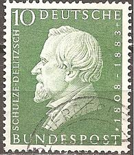 Buy [GE0789] Germany: Sc. No. 789 (1958) Used Single
