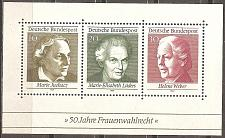 Buy Germany: Sc. No. 1007 (1969) MNH Miniature Sheet