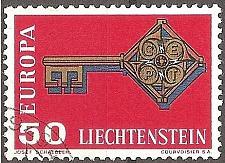 Buy [LI0442] Liechtenstein: Sc. No. 442 (1968) Used Single