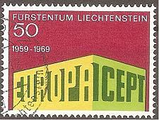 Buy [LI0453] Liechtenstein: Sc. No. 453 (1969) Used Single