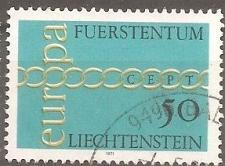 Buy [LI0485] Liechtenstein: Sc. No. 485 (1971) Used Single