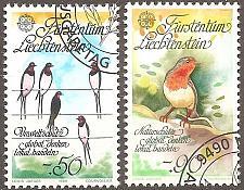 Buy [LI0829] Liechtenstein: Sc. No. 829-830 (1966) Cancelled Complete Set