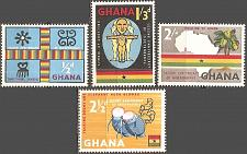 Buy [GH0042] Ghana: Sc. No. 42-45 (1959) MNH Complete Set