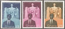 Buy [GH0039] Ghana: Sc. No. 39-41 (1959) MNH Complete Set