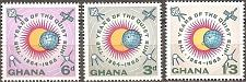 Buy [GH0164] Ghana: Sc. No. 164-166 (1964) MNH Complete Set