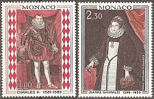 Buy Monaco: Sc. no. 710-711 (1968) MNH Full Set