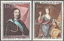 Buy Monaco: Sc. no. 735-736 (1969) MNH Full Set