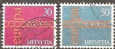 Buy Switzerland: Sc. No. 0531-0532 (1971) Used Complete Set