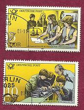 Buy GERMANY East Germany DDR GDR 1981 Stamps - Set of 2 Education Stamps- not hinged