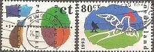 Buy [NE0846] Netherlands: Sc. no. 846-847 (1993) Used Complete Set