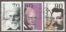 Buy [NE0841] Netherlands: Sc. no. 841-843 (1993) Used Complete Set