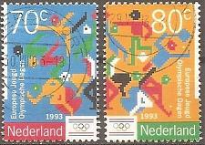Buy Netherlands: Sc. no. 0836-0837 (1993) Used Complete Set