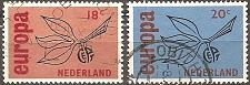 Buy [NE0438] Netherlands: Sc. no. 438-439 (1965) Used Complete Set