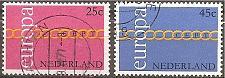 Buy [NE0488] Netherlands: Sc. no. 488-489 (1971) Used Complete Set