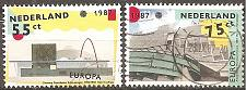 Buy [NE0715] Netherlands: Sc. no. 715-716 (1987) Used Complete Set