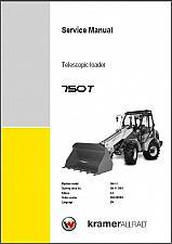 Buy Wacker Neuson 750T Telescopic Loader Service Repair Manual CD -- 750 T