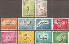 Buy [SM0572] San Marino: Sc. no. 572-581 (1963) MNH Complete Set