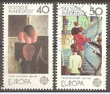 Buy [GE1164] Germany: Sc. No. 1164-1165 (1975) Used Complete Set