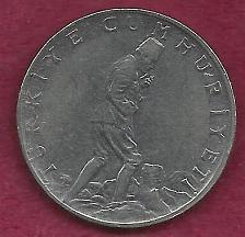 Buy TURKEY 2-1/2 Lira 1975 Coin - Ataturk 'Thinker' Coin -Edge lettering/ design