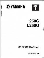 Buy Yamaha 250 / L250 Hp ( 250G / L250G ) 2-Stroke Outboard Motors Service Manual CD