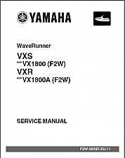 Buy Yamaha WaveRunner VXS / VXR ( VX1800 / VX1800A ) Service Repair Manual CD