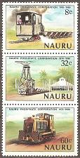 Buy Nauru: Sc. no. 0214-0216 (1980) MNH Complete Strip of 3