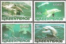 Buy [SA0943] Samoa: Sc. No. 943-946 (1997) MNH Complete Set