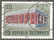 Buy Austria: Sc. no. 0837 (1969) Used
