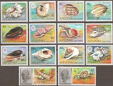 Buy [AI0082] Aitutaki: Sc. no. 82-95 (1974-1975) MNH Complete Set